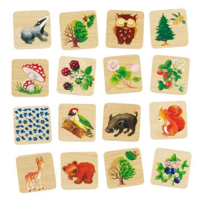 Memospiel Memorie Memory Spiel Legespiel 32 Karten