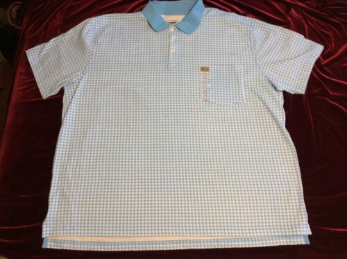 3XL Vest pocket 4XL by The Foundry NWT Collar Men/'s Polo Shirt Sizes 2X