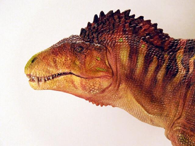 "1/24th Acrocanthosaurus dinosaur resin model kit 19""- Creative Beast Studio"