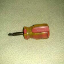 Matco Tools Sdp81p2 Stubby Hard Handle Philipps Screwdriver Vintage