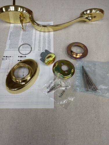 Kwikset Titan Handleset 802 LIP 3 Chelsea X LIP Dummy Handleset 98029-001