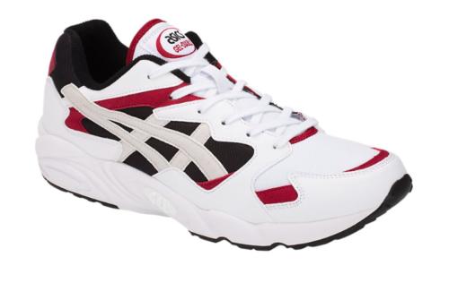 ASICS Tiger Men's GEL-DIABLO Sneakers, White White Black Red