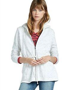Lucky-Brand-Womens-XL-119-Marshmallow-Sherpa-Hoodie-Sweatshirt-Jacket