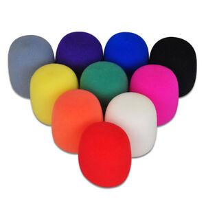 5Color-Foam-Microphone-Windscreen-Mic-Cover-Karaoke-DJ-Sponge-Filter-Wind-Shield