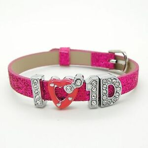 One-Direction-I-Love-1D-Bracelet-Wristband-with-Free-Gift-Bag-Choose-In