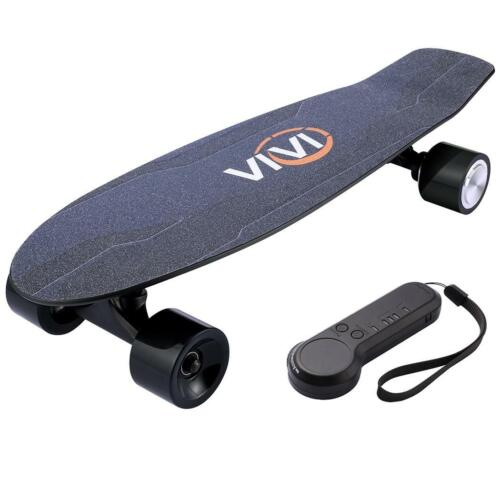 TOP SPEED 10MPH 350W Longboard with Remote Control Details about  /2000mAh Electric Skateboard