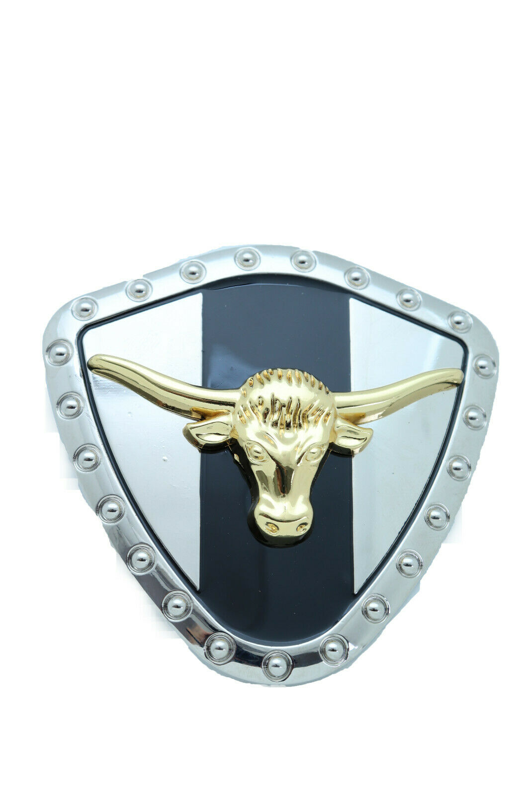 Herren Silber Metall Western Gürtelschnalle Texas Lone Hupe Kuh Gold Stier Rodeo
