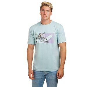 Ocean-Pacific-Surf-lineas-Licencia-Oficial-Para-Hombre-T-Shirt-Cerceta-S-XXL