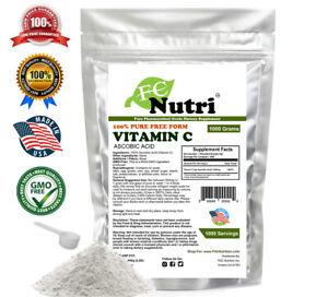 1000g-2-2-lb-100-PURE-L-Ascorbic-Acid-Vitamin-C-Powder-NonGMO-non-irradiated