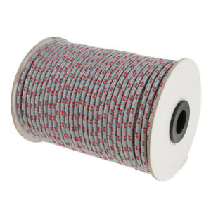 5mm Reflective Windproof Guyline Tent Tarp Rope Guy Line Camping Cord Guide