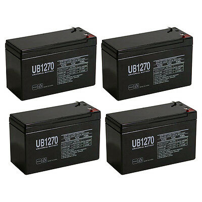 SLA Replacement Battery Set Altronix AL600ULXR 12V 7Ah with F1 Terminal