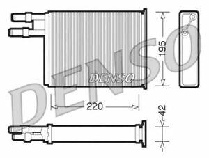 DENSO HEAT EXCHANGER, HEATER MATRIX FOR A CITROEN JUMPER BOX 2.5 79KW