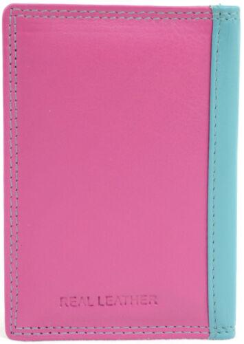 Wallet Travel Card Holder Unisex Soft Leather Credit Card