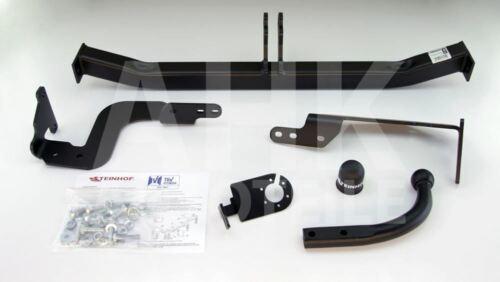 Für Peugeot 5008 I 10-17 Anhängerkupplung starr+E-Satz 13p spez ABE
