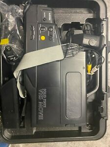 L👀K vintage 1989 Sears Solidstate VHS Video camera/Recorder Complete with case