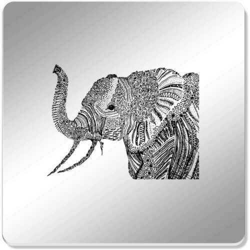 """/""""Detailed éléphant/"""" COASTER Séries//Sets de table CR002383"""
