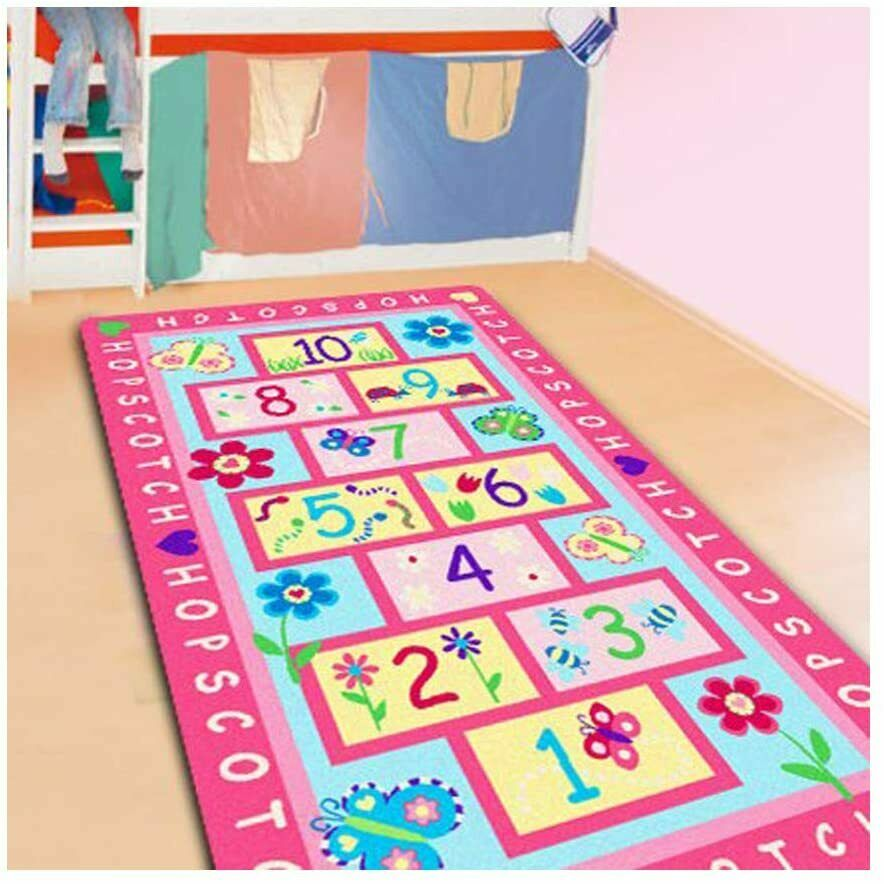 Kids Carpet Playmat Rug with Roads and Train Tracks,Cool and Fun Area Rug Gift,Kid Rug for Boys and Girls Play and Learn,Car Carpet Playmat for Bedroom Play Room Game Area