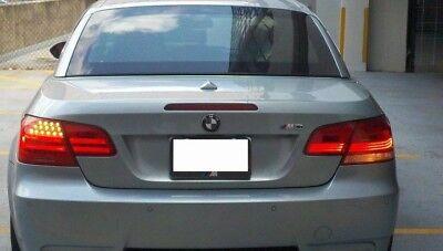 07-10 BMW E92 E93 3 SERIES COUPE TURN SIGNAL SMOKE TINT OVERLAYS 328i 335i M3