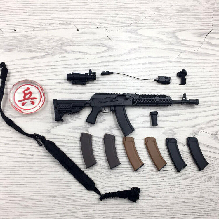 DAM giocattoli 78058 RUSSIAN SPETSNAZ MVD  SOBR LYNX AK74M RIFLE SET 16