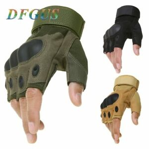Tactical-Fingerless-Gloves-Military-Army-Shooting-Paintball-Airsoft-Bicycle
