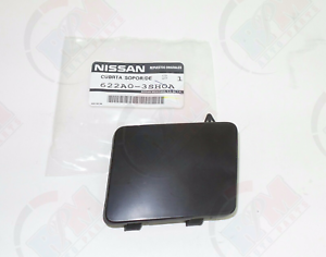 for 2013-2016 Nissan Sentra Front Bumper Tow Eye Hook Access Cover Cap OEM
