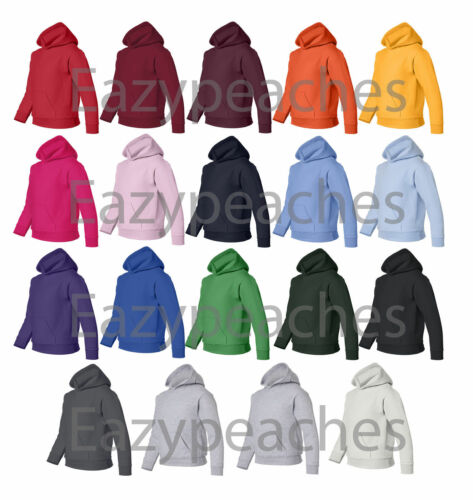 PEACHES PICK YOUTH Size XS-XL COTTON BLEND Hooded Sweatshirt Hoodie Jumper Top