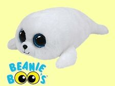 """Ty® 7"""" Icy Beanie Boo's® Small White Seal SPARKLY EYES - FROM OUR SEALIFE STOCK"""