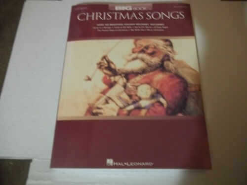 The Big Book of Christmas Songs by Hal Leonard Paperback 2nd edition NICE CLEAN