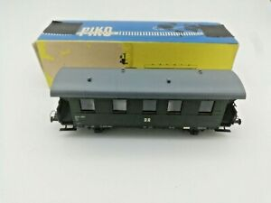 Piko-536-938-H0-Passenger-Coach-Bi-33a-German-Dark-Green-343-207