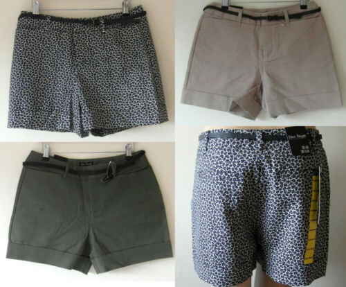 Ladies Ellen Reyes su misura Designer Pantaloncini Plus Cintura Taglia 10 Nuovo con etichette