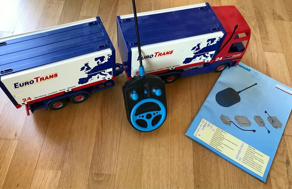 Playmobil Lastbil med Trailer, fjernstyret, Playmobil