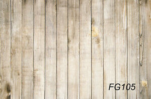 LB 5X3FT Wood Wall Floor vinyl photography Custom Backdrop Background prop FG105