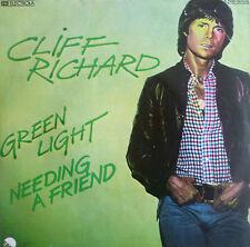 "7"" 1976 RARE IN MINT- ! CLIFF RICHARD : Green Light"