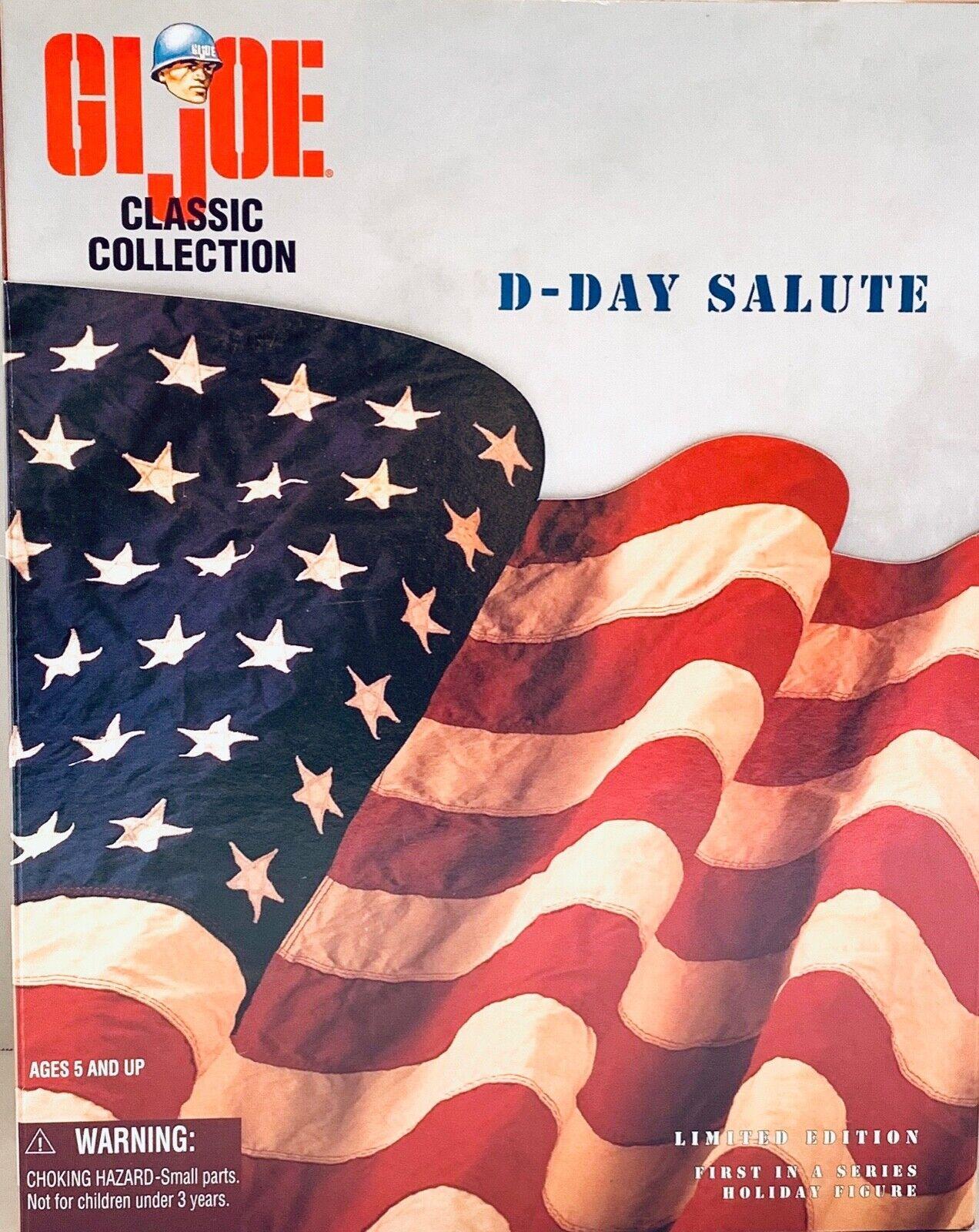 Gi JOE JOE JOE WWII D-DAY SALUTEHASBRO TOYS FIGURE, 1996 e5aa1f