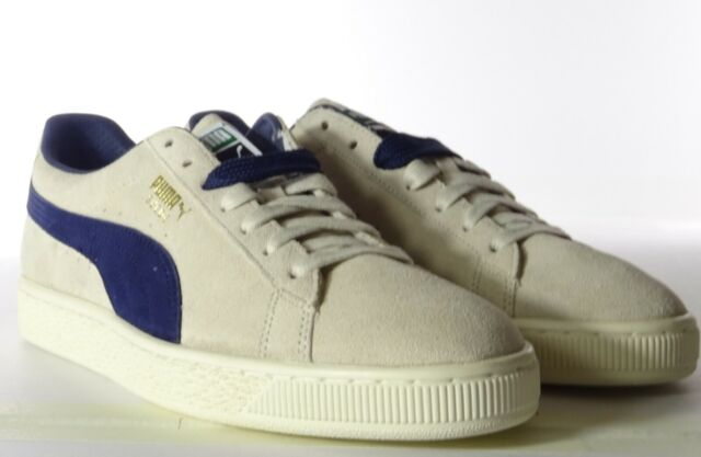 Puma 'Suede Classic Archive' Limited Edition Birch & Peacoat Trainers UK 8 SALE