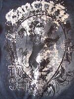 Sanctify Religious Christian Lion Crest Juniors T-shirt Size Large