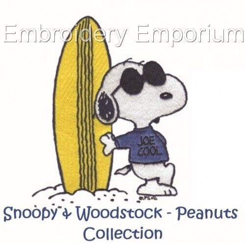 Snoopy /& Woodstock-cacahuetes Colección-diseños de bordado de la máquina en CD//USB