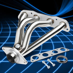 For 09-17 Corolla xD iM Matrix 1.8 4CYL Stainless Shorty Header Manifold Exhaust