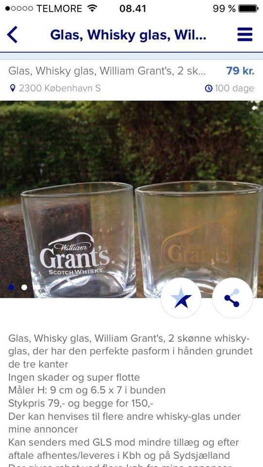Glas, Whiskey glas