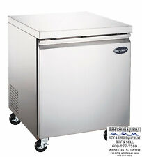 Saba 27 1 Door Commercial Under Counter Refrigerator Ss Steel Food Storage