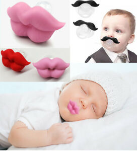Funny-Silicone-Infant-Pacifier-Orthodontic-Nipples-Dummy-Mustache-Beard-Mouth