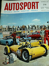 Autosport November 26th 1965 *RAC Rally 1st Stages & Jo Bonnier Interview*