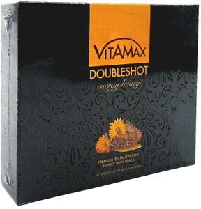 Vitamax Doubleshot Premium Instant Premix Energy Honey 20 gr Pack
