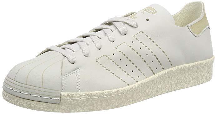 Adidas ORIGINALS Mens Superstar 80s Decon schuhe Weiß   12 UK   NEW