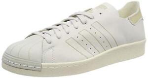 White Adidas Uk 12 New Originals Decon Mens 80s Shoes Superstar rTqH1Yr