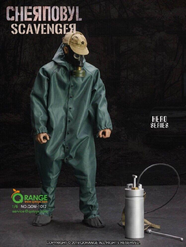 16 Chernobyl Scavenger RESCUER Clothes Qarancia QOgiocattoli QOM1012 For 12'' cifra
