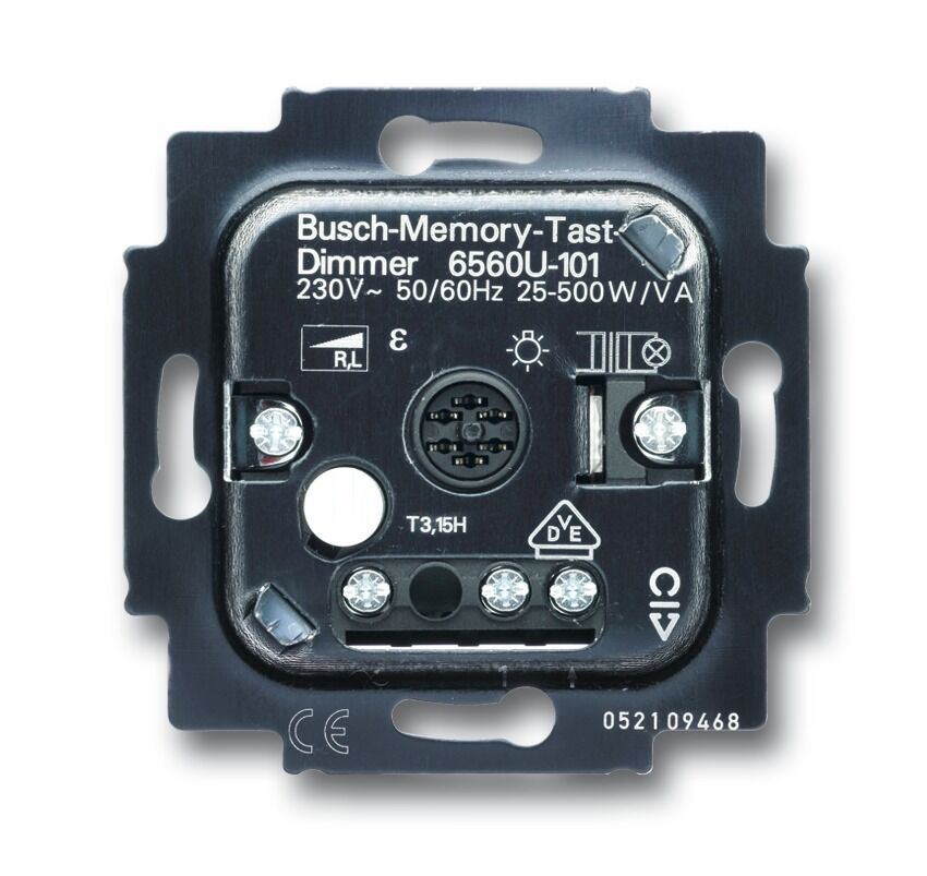 Busch Jaeger Tastdimmer 6560U-101 UP RL  25-500 W