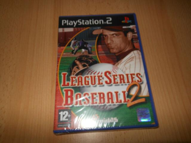 LEAGUE SERIES BASEBALL 2 - PLAYSTATION 2 PS2  NEW SEALED PAL