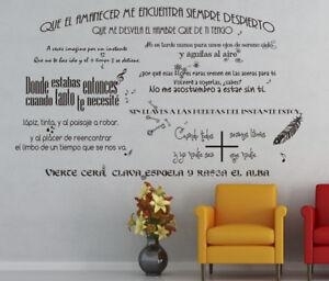 Vinilo decorativo #1018# MANOLO GARCIA 8