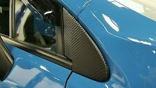 2013+ Subaru Crosstrek 3D Carbon Fiber Quarter Window Trim Overlays